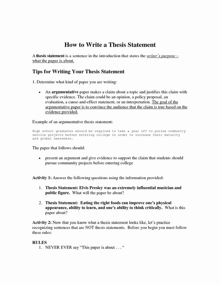 Thesis Writing Help & Editing Service