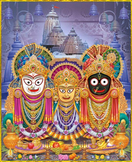 Jai Jai Jagannath, Baladev, Subhadra Maiyya ki!!!!