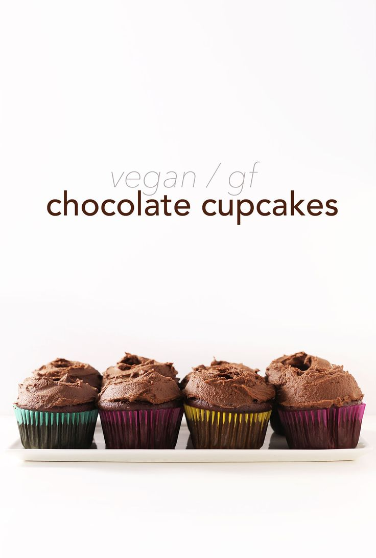 Vegan Chocolate Cupcakes | Minimalist Baker Recipes