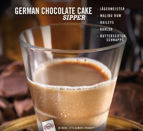 German Chocolate Cake Shot Jager