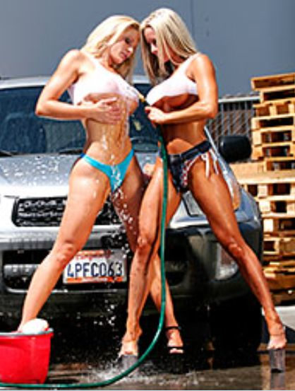 Fembomb Car Wash