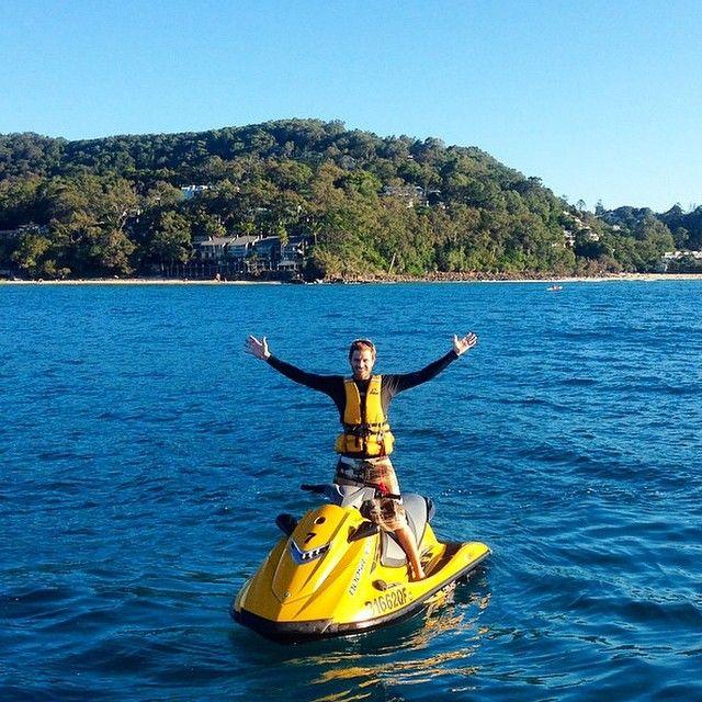 Explore Noosa's waters by jet ski!