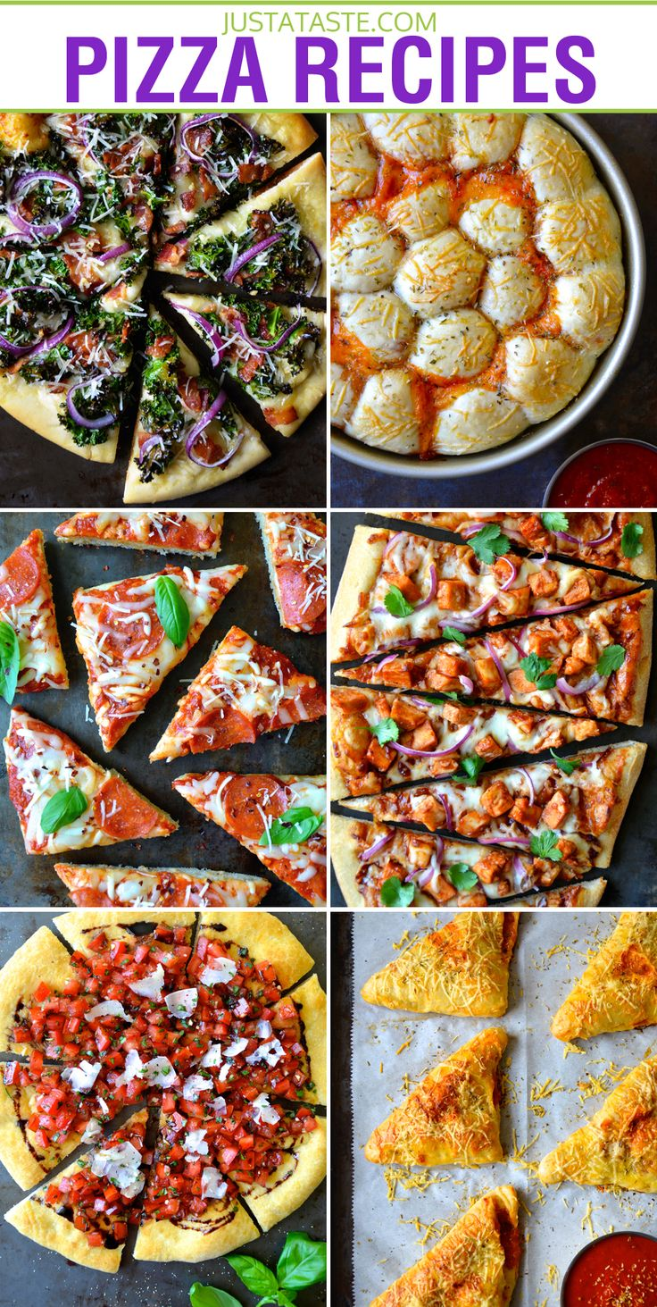 The Best Homemade Pizza Recipes on justataste.com #recipe