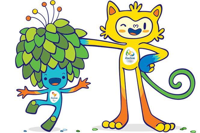 mascottes jeux olympiques