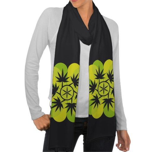 Hoja verde vectorial de planta. Vector plant  Cannabis. Producto disponible en tienda Zazzle. Vestuario, moda. Product available in Zazzle store. Fashion wardrobe. Regalos, Gifts. Link to product: http://www.zazzle.com/hoja_verde_vectorial_de_planta_vector_plant_scarf-256359104461711261?CMPN=shareicon&lang=en&social=true&rf=238167879144476949 #scarf #bufanda #marihuana #cannabis