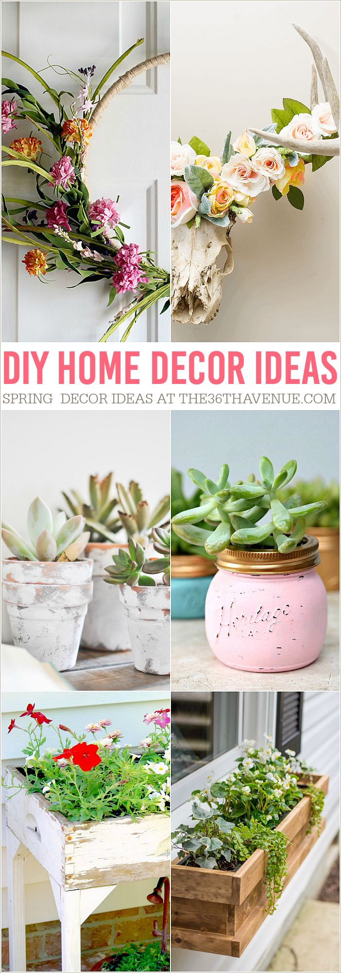 Diy home decor ideas spring inspiration house for Beautiful home decor ideas