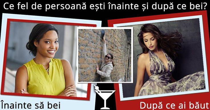 Ce fel de persoană ești înainte și după ce bei?