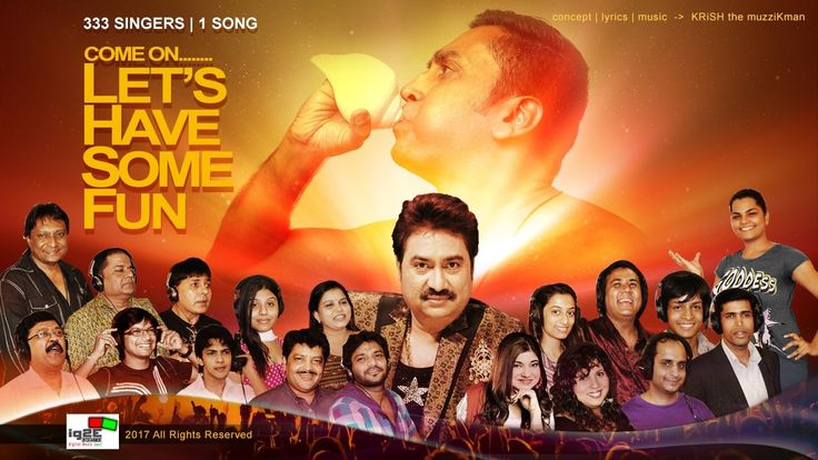 333 Singers' Song with Kumar Sanu - Lets Have Some Fun - Aaja Karle Thod...