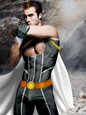 super heroe halcon gay