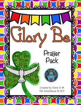This is a prayer pack for the Glory Be.  It includes.2 posters (1 color, 1 black & white)3 worksheets (fill in the blank cloze, word search, and cut & paste)1 coloring page3 answer keys for the worksheetsThese make great activities while learning or refreshing the Glory Be prayer for a variety of ages/grades.~~~~~~~~~~~~~~~~~~~~~~~~~~~~~~~~~~~~~~~~~~~~~~~~ You might also be interested in....
