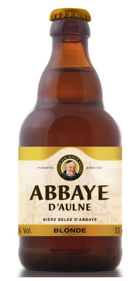 Abbaye d'Aulne Blonde, Belgian Ale 6.0% AVB (Brasserie Val De Sambre, Bélgica) [marzo 2016]