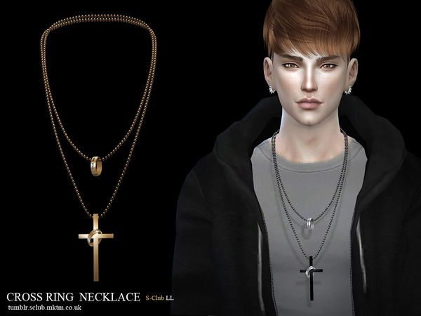 S-Club LL ts4 necklace M03