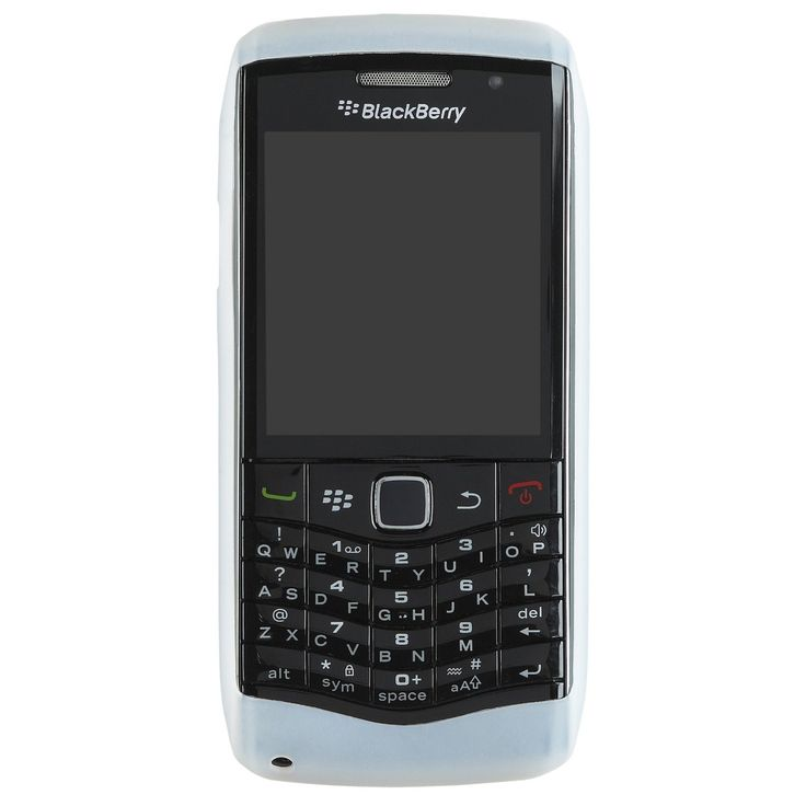 OEM BlackBerry Pearl 3G Silicone Case (Clear)