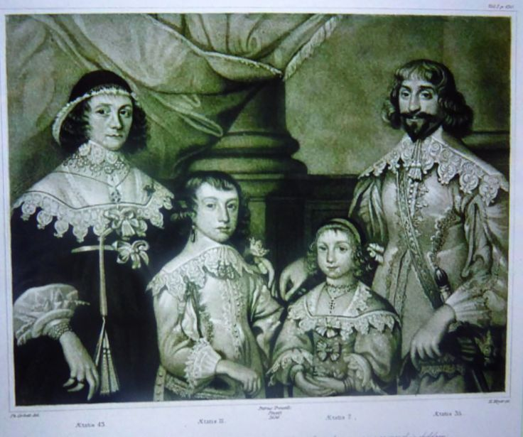 Owners of the house in the seventeenth century