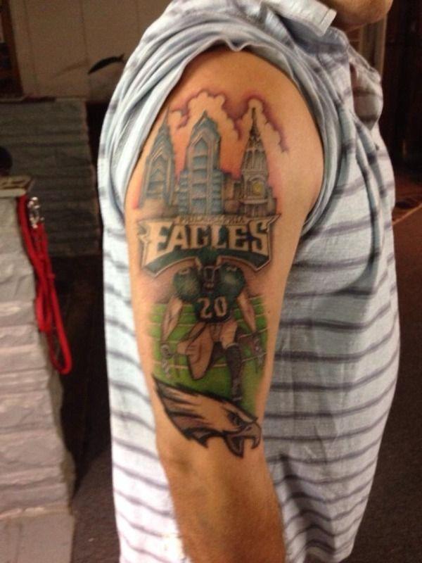 61 best philadelphia eagles tattoos images on pinterest for Philadelphia tattoo shops