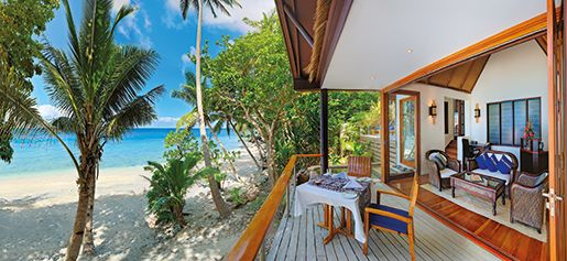 The Royal Davui Island Resort, off the Coral Coast of Fiji's main Island Viti Levu, is one of the world's best private island resorts. Click to read more #Fiji #VacMag