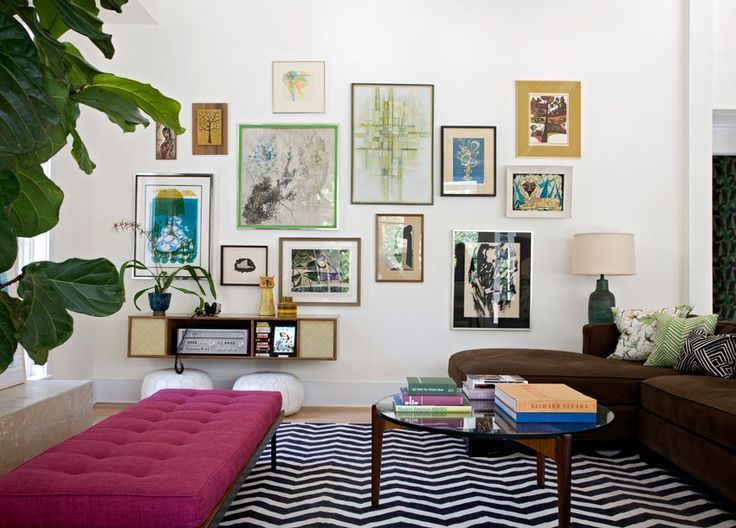Funky Arty Living Room
