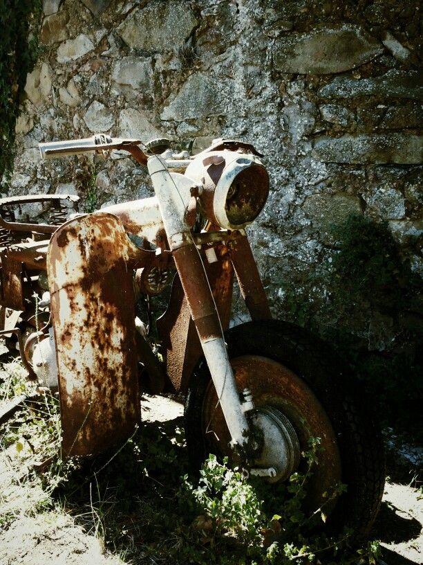 The last parking. Vetulonia. Tuscany. Italy
