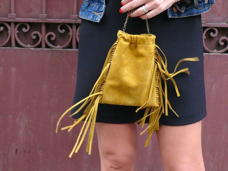 TUTORIEL : Le mini sac à franges en daim