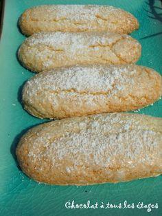 biscuits à la cuillère (faciles et merveilleux) - Blog cuisine avec du chocolat…