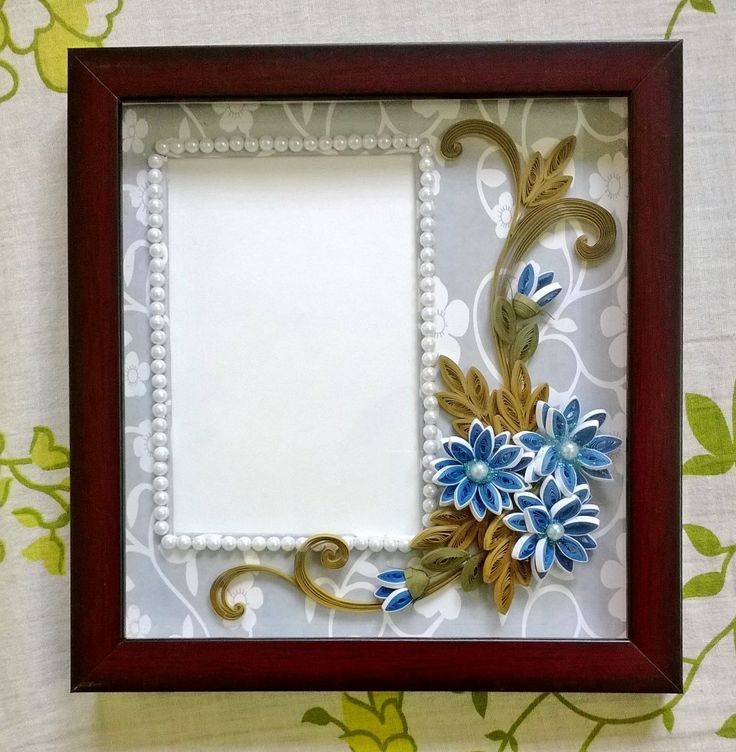 Quilled Wall Photo Frame