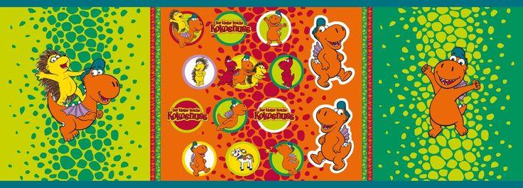 Lillestoff / Lizensstoff » Der Kleine Drache Kokosnuss, Applikation « // hier erhältlich: http://www.lillestoff.com/derkleinedrachekokosnuss-applikation.html