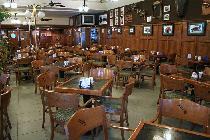 Cafe La Biela-a famous Buenos Aires landmark in the Recoleta district.