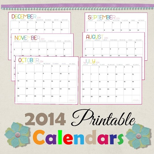 195 Best Calendar Images On Pinterest Blank Calendar Template 2015