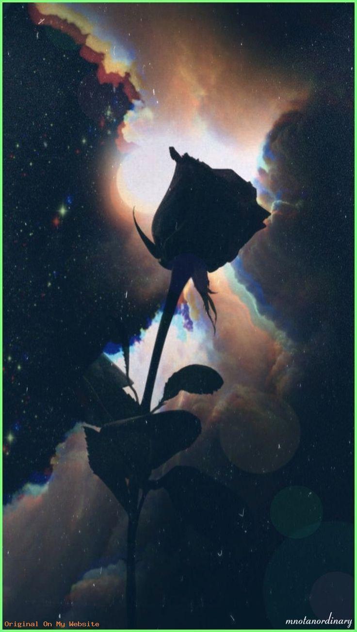 Wallpaper Backgrounds Aesthetic Moonlight Clouds Black Rose Full Moon Dark Aesthetic Black Roses Wallpaper Dark Wallpaper Rose Wallpaper