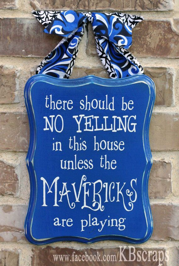 Hey, I found this really awesome Etsy listing at https://www.etsy.com/listing/187853696/no-yelling-mavericks
