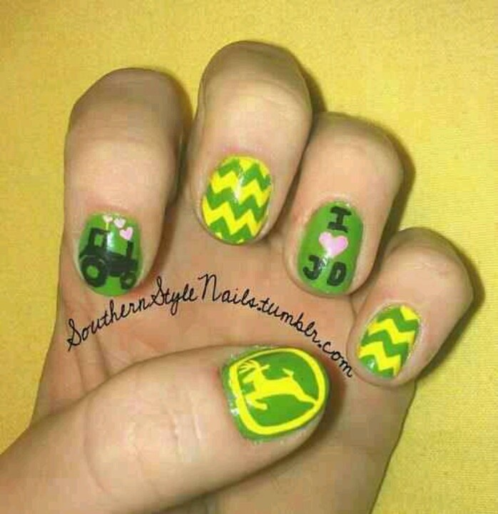 Lots of cute nail ideas on here, but this is one I would actually DO!