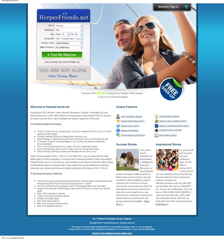 herpes dating site Toronto
