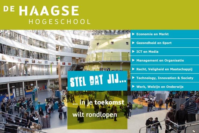 Ik heb gewerkt als (Senior) Student Ambassador voor de Haagse Hogeschool. Een Student Ambassador is onder andere werkzaam op voorlichtingsactiviteiten voor aankomend studenten.