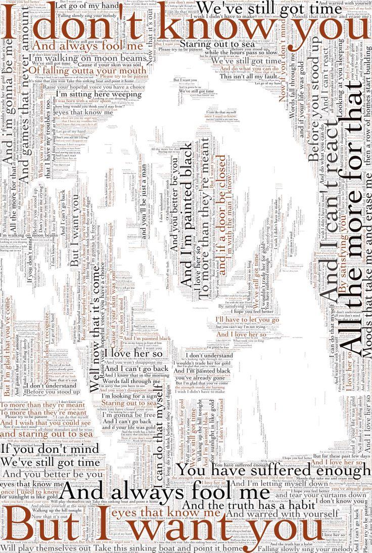 All the lyrics -Once the Musical Written by the wonderful Glen Hansard!!!