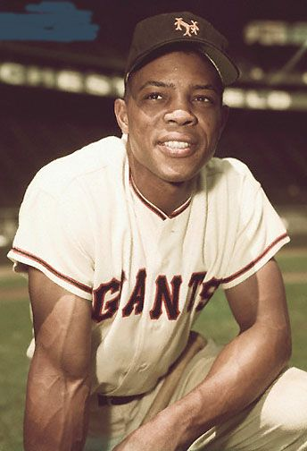 Willie Mays in the NY days. As a young boy, I got to see him play in the 1965 All-Star game in Minneapolis!
