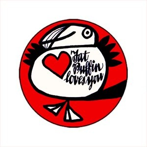 A sticker handed out at Puffin Club events.The Puffin Club Archive: July 2008