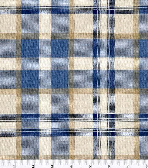 45'' Home Essentials Print Fabric-Ethan/Indigo - $4.99