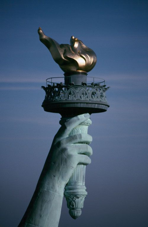 Statue of Liberty flame...freedom !