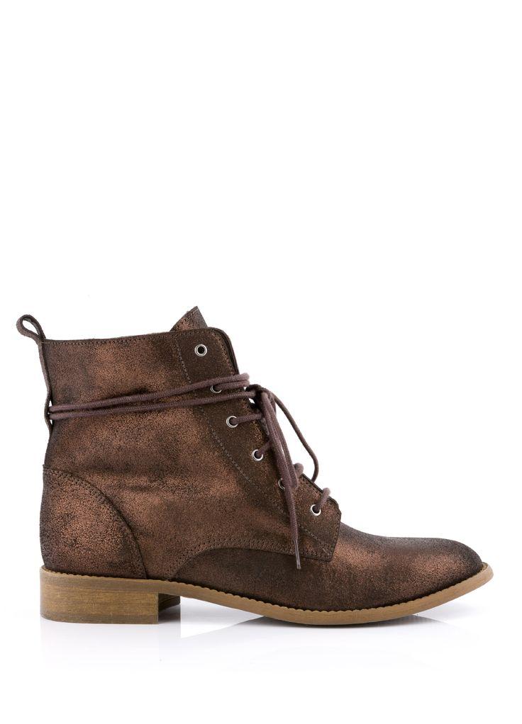 Boots RISO Marron - Bottines - CHAUSSURES FEMME - FEMME