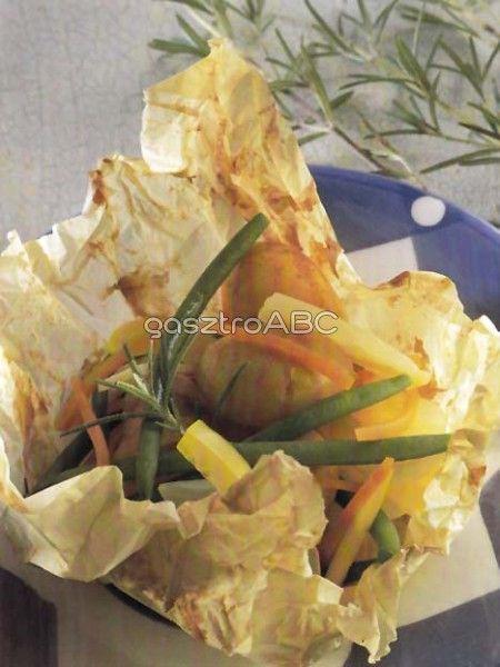 Papírhüvelyben sült burgonya | Receptek