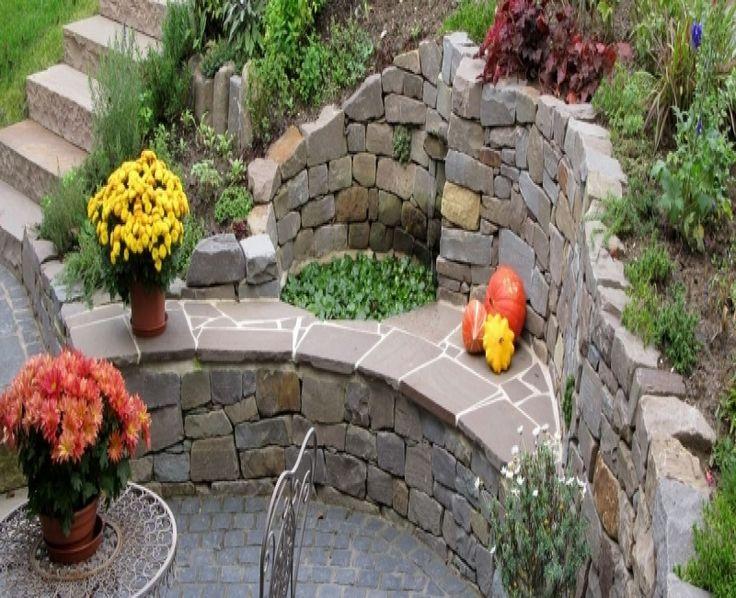 bildergebnis für gartengestaltung mit naturstein. mauern, Garten und bauen