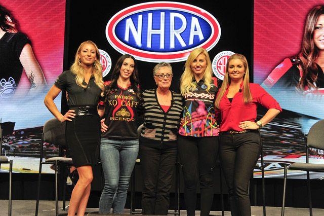 From left, Leah Pritchett, Alexis DeJoria, Shirley ...