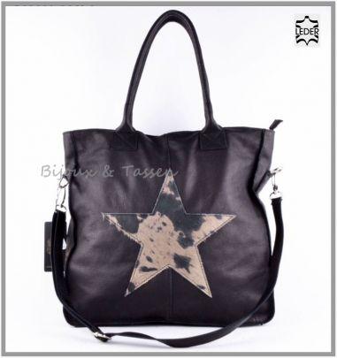 Vera Pelle zwart lederen schoudertas http://www.yealie.nl/winkel/249-bijoux-tassen