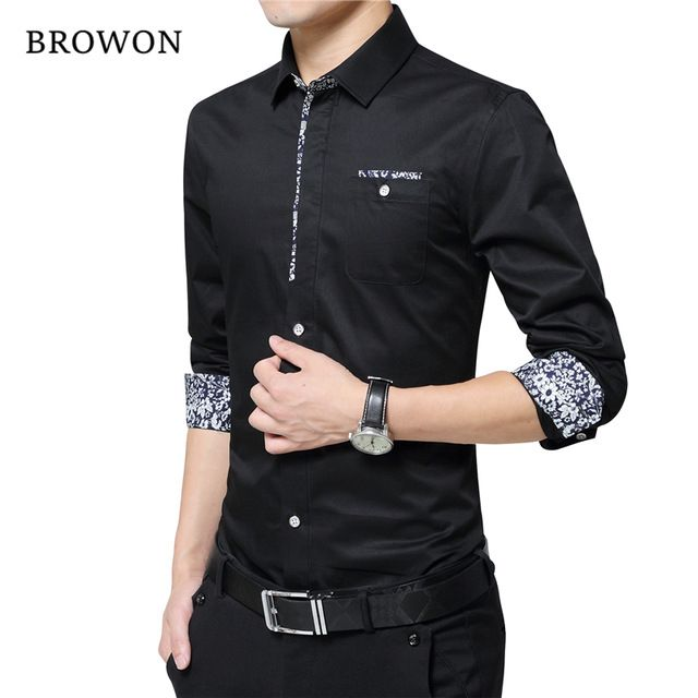 Fair price Plus Size 5XL 2016 New Luxury Brand Men Shirts Non-ironing Long Sleeve Shirt Turn Down Collar Slim Shirt Mens Designer Clothes just only $13.79 with free shipping worldwide  #shirtsformen Plese click on picture to see our special price for you