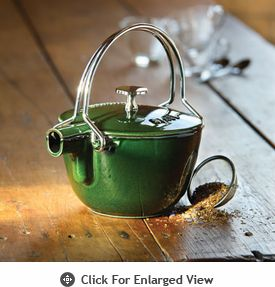 Staub Enameled Cast Iron La Theiere Teapots - $129.99: Signature Colors, International Style