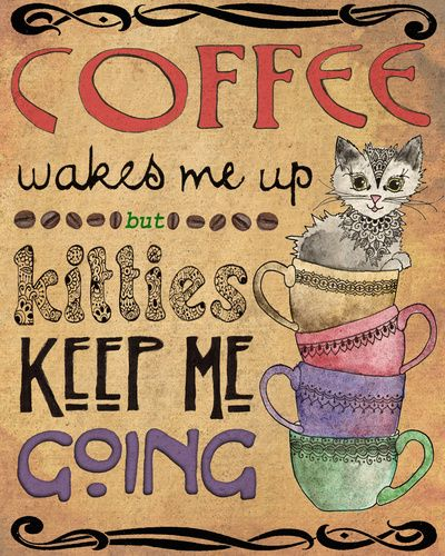 32 best Cats & Coffee images on Pinterest