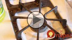 Ako vyčistiť znečistené mriežky na sporáku? Stačia vám len 2 veci!