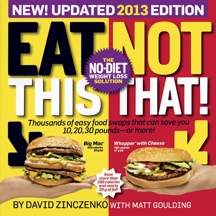 Eat This, Not That!™ 2013 - With an angry food industry hot on their heels and a ravenous fan base hungry for more, David Zinczenko and Matt Goulding once again redefine the American food landscape with the latest in the bestselling Eat This, Not That! series. Featuring up-to-the-minute information on the ever-changing array of supermarket and restaurant offerings, Eat This, Not That! 2013 reveals the shocking calorie counts, mind-bending sugar and fat loads, and deceptive advertising and…