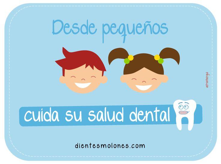 Desde pequeños, cuida su salud dental