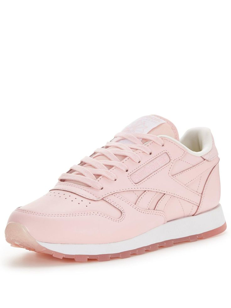 Reebok Classic Leather - Pink | very.co.uk